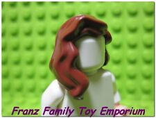 New LEGO Minifig Hair Scarlet Avengers Age of Ultron Red Brown Female Head Gear