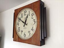 Enorme internazionale tempo di registrazione riunioni orologio. non Gents. 1934. ART DECO.