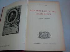 (Voltaire) Romanzi e racconti filosofici 1955 Casini .