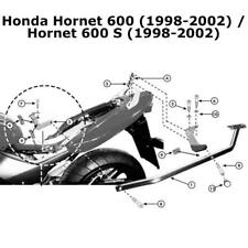 Kappa KZ162 Specific Honda Rear Top Box Rack - Honda Hornet 600 / S (1998-2002)