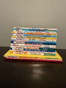 Dr Seuss Lot of 17 Hardcover Books