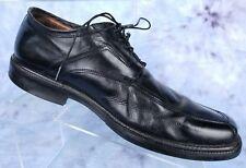 Johnston Murphy Mens Size 8 Dress Shoes Leather Apron Square Toe Lace Up Oxfords