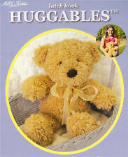 "Huggables 14"" LATCH HOOK TEDDY BEAR KIT ~ NEW in BOX - Make Your Own Teddy Bear"