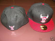 Chicago Bulls NBA Custom New Era Hat Cap 7 Eitr Red