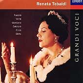 Renata Tebaldi: Grandi Voci ~ NEW CD (Oct-1993, London (USA))