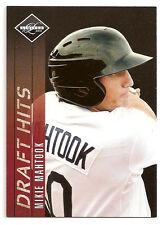 2011 Mikie Mahtook Panini Limited Draft Hits Rookie /249