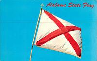 Postcard Alabama State Flag