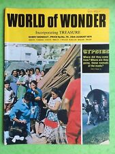 World of Wonder - no.75-28th AGOSTO 1971 - Gypsies, Where Did They Come de ?