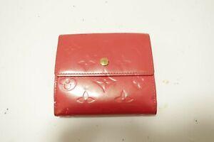Authentic LOUIS VUITTON Vernis Monogram Wallet #9190