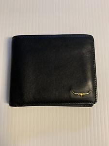 RM Williams Bi-Fold Wallet - Black