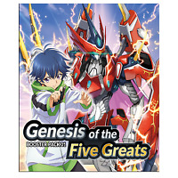 Cardfight!! Vanguard overDress - Genesis of the Five Greats (16CDU) ENG PREORDER