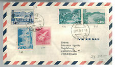 1958 Osaka Japan Airmail Cover to Germany