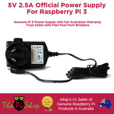 5.1V 2.5A Official Power Supply Adapter PSU for Raspberry Pi 3