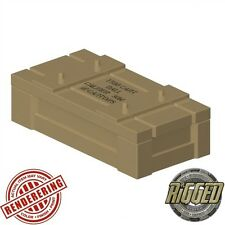 Brickforge Ammo/Weapons CRATE for Custom Lego Minifigures -Pick your Color!-