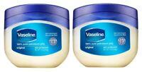 2X- VASELINE ORIGINAL 1.75 Oz Skin Protective Pure Petroleum Healing Jelly Cream