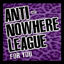 for You 5036436092826 by Anti-nowhere League CD With DVD