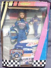 barbie NASCAR OFFICIAL 50th Anniversary 1998 Mattel 20442 poupee boite abimée