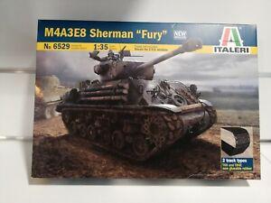 M4A3E8 Sherman Fury 1/35 kit italeri carro armato guerra mondiale veicolo armato