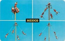 Mexico~World Famous Papantla Flyers~Death Defying Trapeze Artists~Circus~1960s