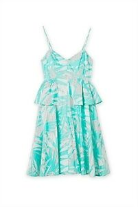 NEW WITH TAGS! Country Road Mint Green Sun Dress Size 12 RRP $129