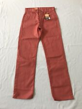"Levi's 501 ""Shrink-To-Fit"" Button Fly Straight Leg Jeans Size 31 X 34"