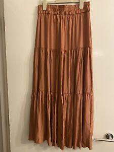 BNWOT H&M Elasticated Waist Maxi Skirt (S)