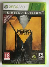 Xbox 360 Metro Last Light Limited Edition, brand new & factory sealed