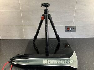 Manfrotto 725B Digi Black Tripod with Ballhead (Quick Release)