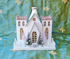 Cody Foster Christmas Cottage House Castle with Rabbit NEW 2015