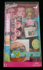 NSYNC #1 Fan 2000 Barbie Doll 50534 Exclusive Music CD Collectible NRFB