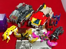 Transformers Fall Of Cybertron Voyager Blaster Soundblaster & 6 Discs - Complete