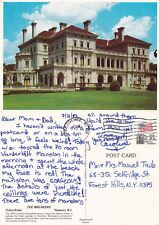THE BREAKERS OCHRE POINT NEWPORT RHODE ISLAND UNITED STATES COLOUR POSTCARD