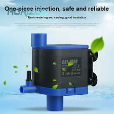 Water Air Pump Filter Submersible 3In1 Low Power Consumption Fish Tank Aquarium