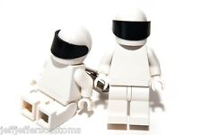 GENUINE LEGO THE STIG CUFFLINKS Handmade Cuff Links For Top Gear Fans & Gift Box