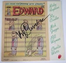 """Ry Cooder ROLLING STONES Signed Autograph """"Jamming With Edward"""" Album Vinyl LP"""
