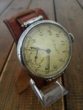 Very RARE H Moser & Cie Vintage Trench Watch 1890 Original Good Condition