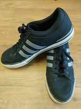 Mens ADIDAS NEO Shoes Sneakers Size 13 Black Gray