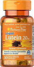 Luteína 20 MG con la zeaxantina X 30 cápsula la salud de los ojos-envío 24HR
