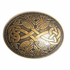 BLESSUME Annata Medievale Vichingo Spilla Norvegese Stile Spille Uno (k0U)