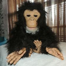 """FurReal Friends Cuddle Chimp Plush Monkey Animated Toy 11"""" 2008 Hasbro"""