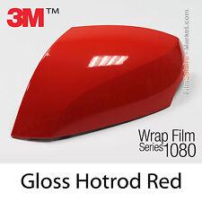20x30cm LÁMINA Brillante Hotrod Rojo 3M 1080 G13 Vinilo CUBIERTA Cinta aislante