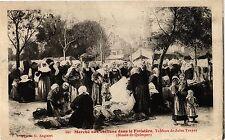 CPA Marché aux chiffons dans le Finistére-Tableau de Jules Trayer (188753)