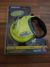 Hi-Vis Viva 5m Retractable Lead - Small up to 20kg