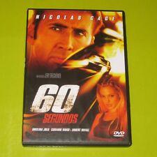 DVD.- 60 SEGUNDOS - NICOLAS CAGE - ANGELINA JOLIE