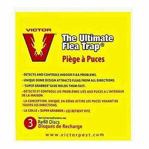 Victor M231 Ultimate Flea Trap Refills, 3 Per Pack