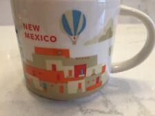 Starbucks New Mexico You Are Here Collection Coffee Mug Tea Cup 14 Oz YAH - NWOT