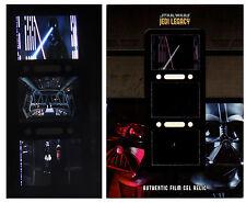 2013 Star Wars Jedi Legacy Triple Film Cel Relic TFR-8 Luke Skywalker Vader
