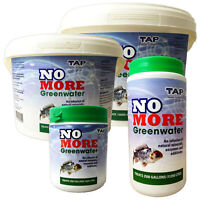 TAP NO MORE Greenwater Green Water Clear Treatment Remover Garden Fish Koi Pond