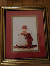 Anne Geddes/ with snowman/ suit/ and hat & scarf/