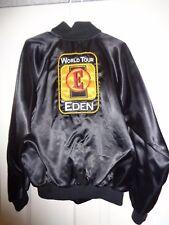 Vintage Eden Amplifiers World Tour Button Down Bomber Jacket Medium Nemesis